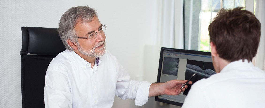 Augenarzt Makuladegeneration Düsseldorf