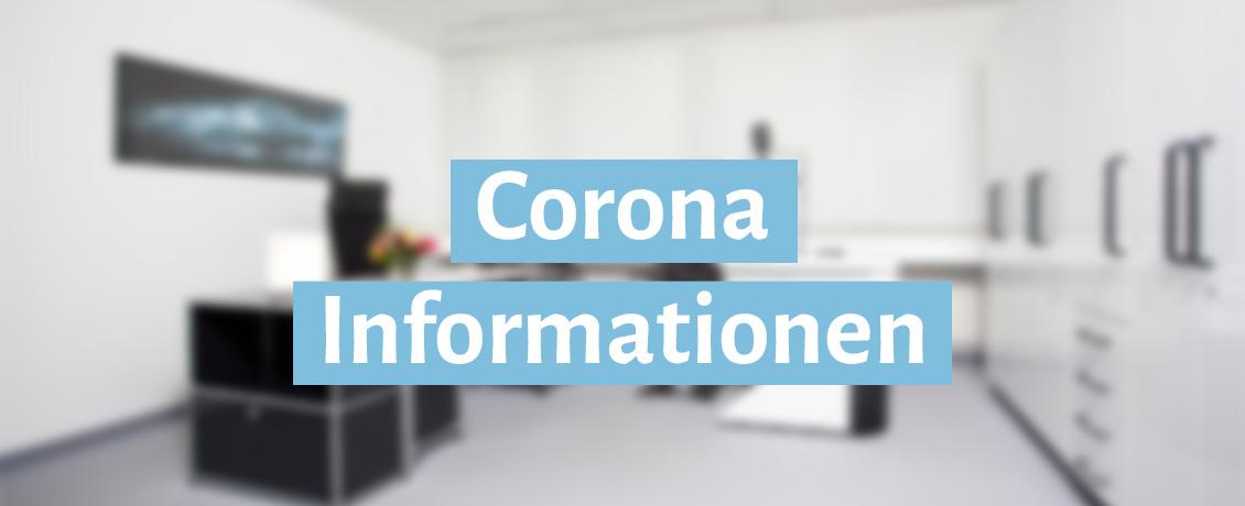 Corona Infos in der Augenarztpraxis