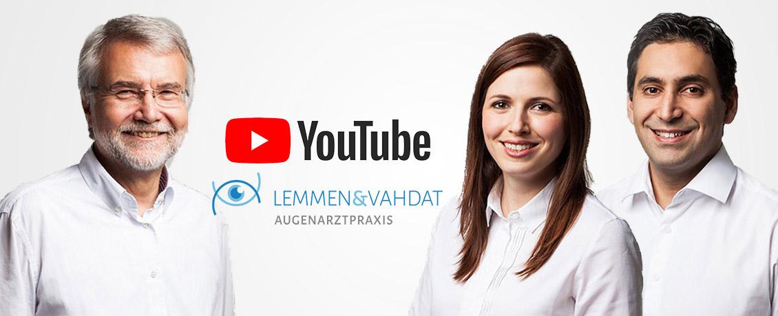 Augenarzt Lemmen & Vahdat auf YouTube