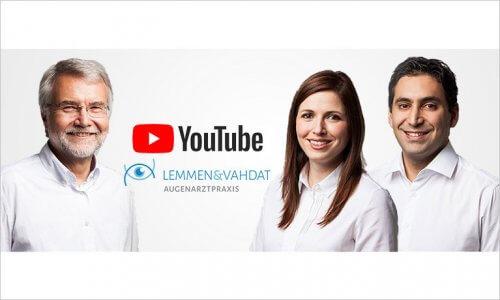Augenarzt Lemmen & Vahdat auf YouTube - News Teaser
